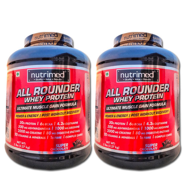 All Rounder Whey Protein - 5 lbs