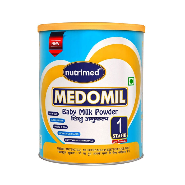 Medomil Stage 1 Infant Milk Formula (0-6 months) - 400gm - nutrimedmain