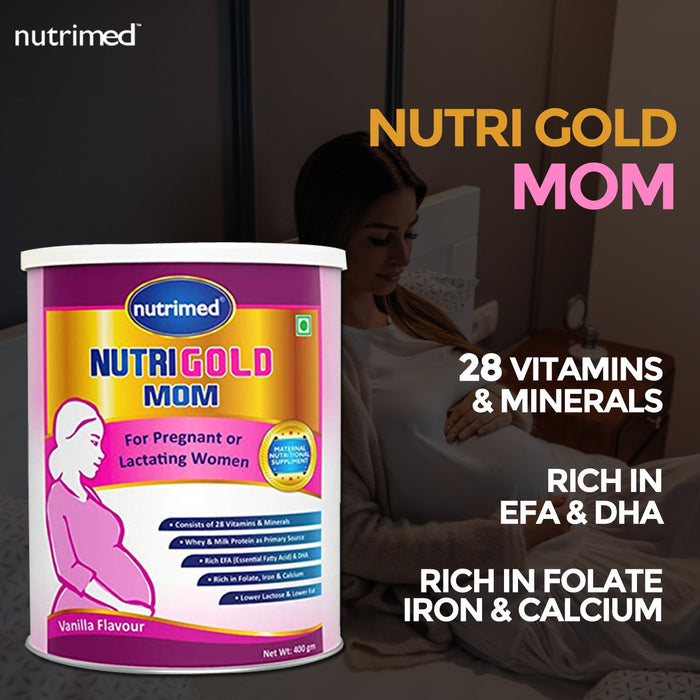 Nutrigold Mom-400gm - nutrimedmain