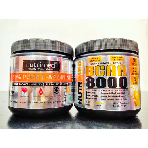PRE+POST Workout (L-Arginine + BCAA orange) - nutrimedmain