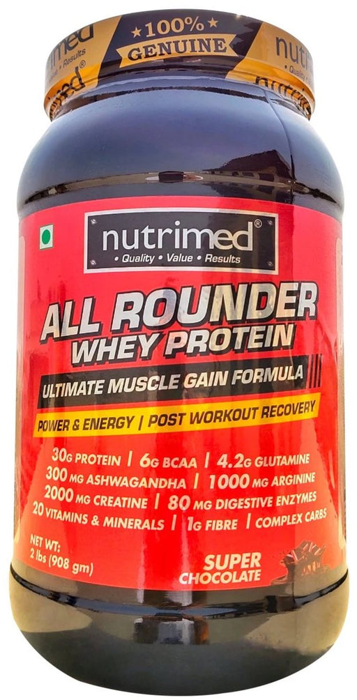All Rounder Whey Protein - 2 lbs - nutrimedmain