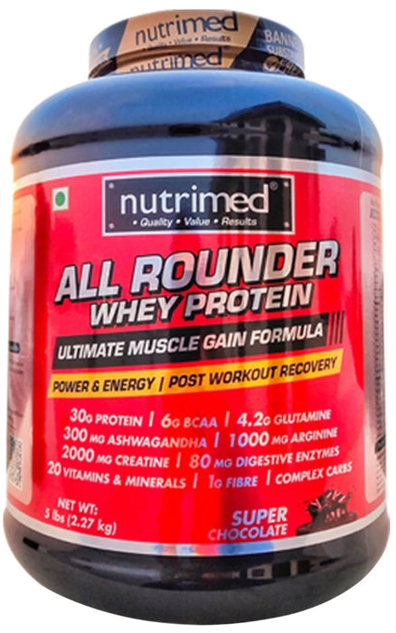 All Rounder Whey Protein - 5 lbs - nutrimedmain
