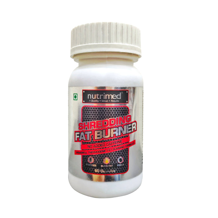 Shredding Fat Burner - nutrimedmain
