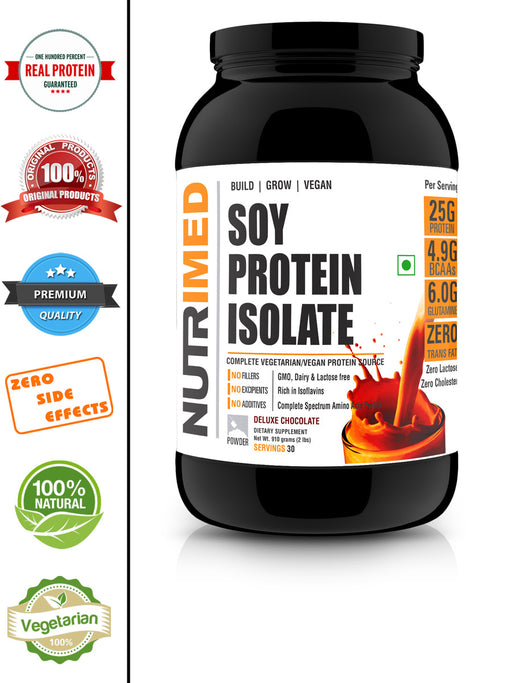 100% Soy Protein Isolate - nutrimedmain
