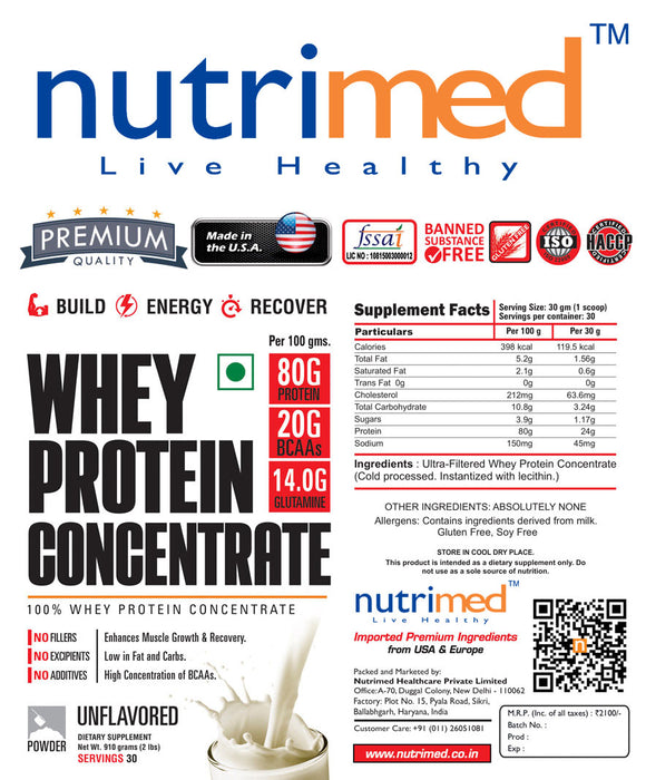 Nutrimed 100% Whey Protein Concentrate - nutrimedmain