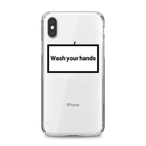 Wash your hands Case for iPhone