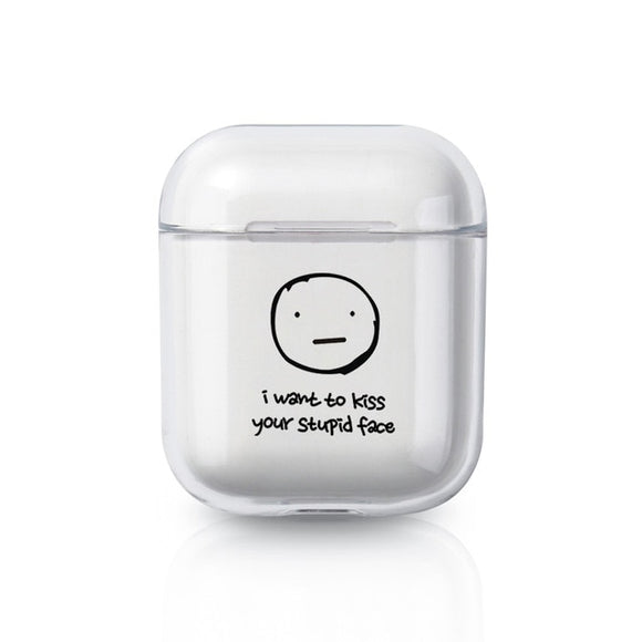Kiss Your Face AirPods Case - AntisocialCase