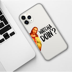 Whatcha Doin'? iPhone Case