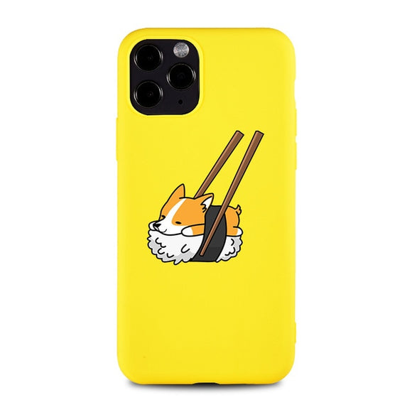 Sushi Corgi iPhone Case