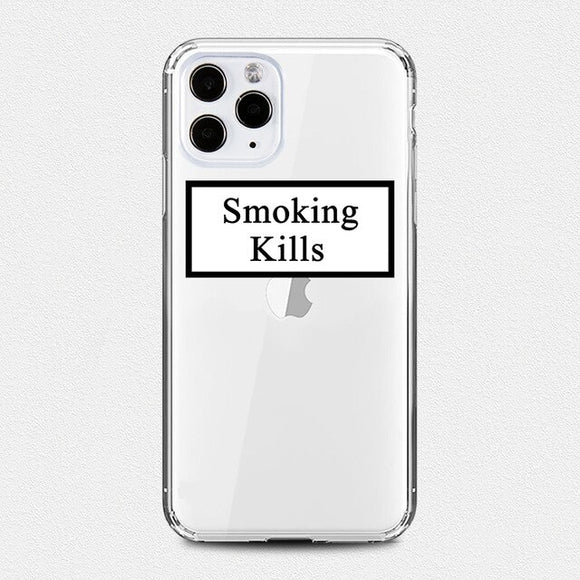 Smoking Kills iPhone Case - AntisocialCase