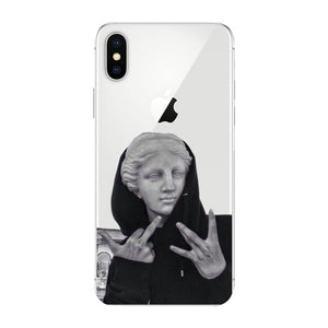Venus de Milo Dope Statue iPhone Case