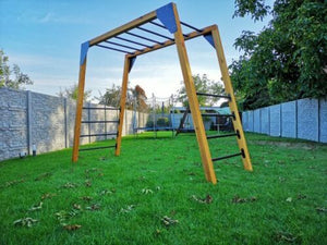 PULL UP GYMNASTICS Powder Coated Metal Monkey Bars Ladder Rungs 900 mm 1250 mm