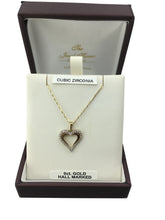 Load image into Gallery viewer, 9ct. Gold Heart Pendant