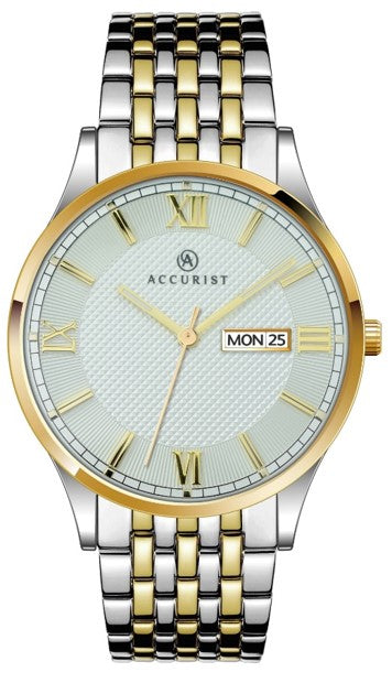 Accurist Gents Two Tone Watch
