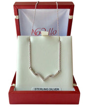 Load image into Gallery viewer, Sterling Silver V necklet