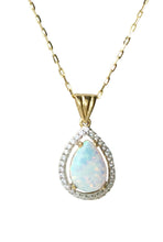 Load image into Gallery viewer, 9ct. Gold Opal Pendant