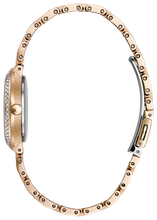 Load image into Gallery viewer, Citizen Silhouette Crystal Ladies Eco-Drive Rose Gold Watch