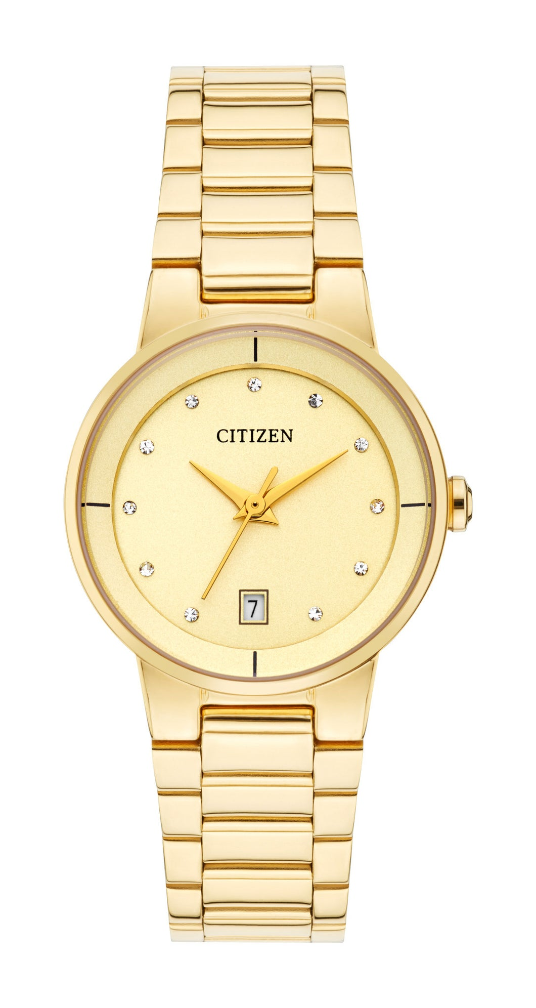 Citizen Quartz Collection Ladies Gold Tone Watch