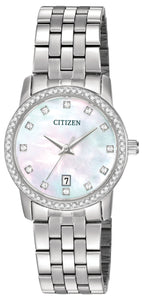 Citizen Quarts Collection Ladies Stainless Steel Watch