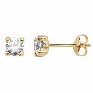 9ct. Gold Stud Earrings