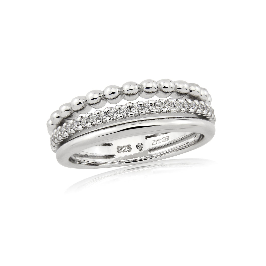 Waterford Jewellery Triple Band Ring