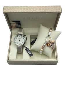 Cristallo di Milano Watch and Bracelet Set