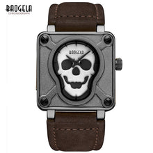 Load image into Gallery viewer, BAOGELA  Men's Skeletion Quartz Watchess