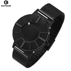 Mens Watch Innovate Magnetic Ball Show Man Watch Stainless Steel Nylon Satch Strap Waterproof Quartz Wristwatches