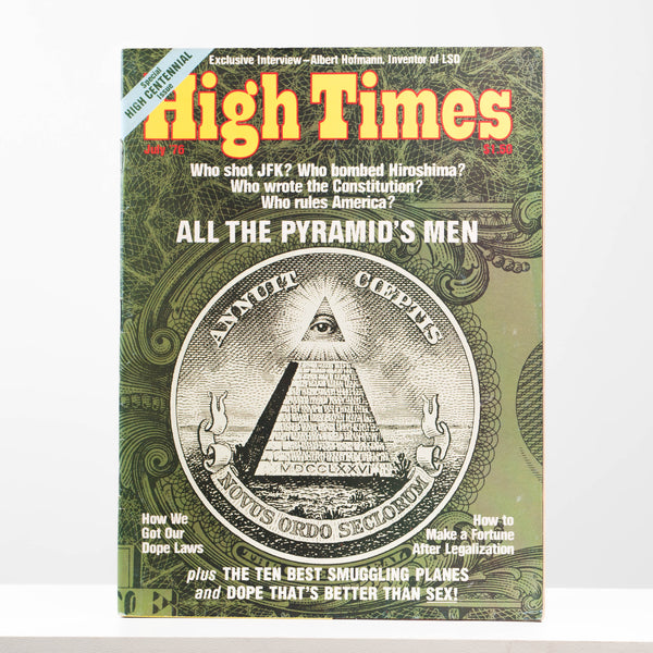 High Times Magazine. Issues 1-10. 1974 - 1976