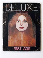 Fashion Editor: Caroline Baker  DELUXE MAGAZINE  Issues 1 & 2 (Complete Run)