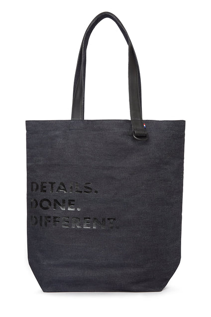 Japanese Denim 12 oz - Shopper Bag-Shopper-Decoded Bags