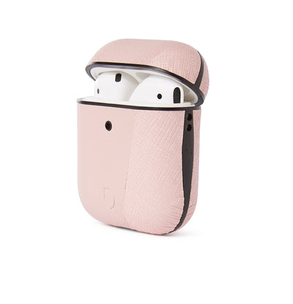 AirCase2 Split Silver Pink - AirPods 1 & 2-AirCase-Decoded Bags