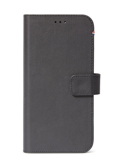 Detachable Wallet Black - iPhone 12-Detachable Wallet-Decoded Bags