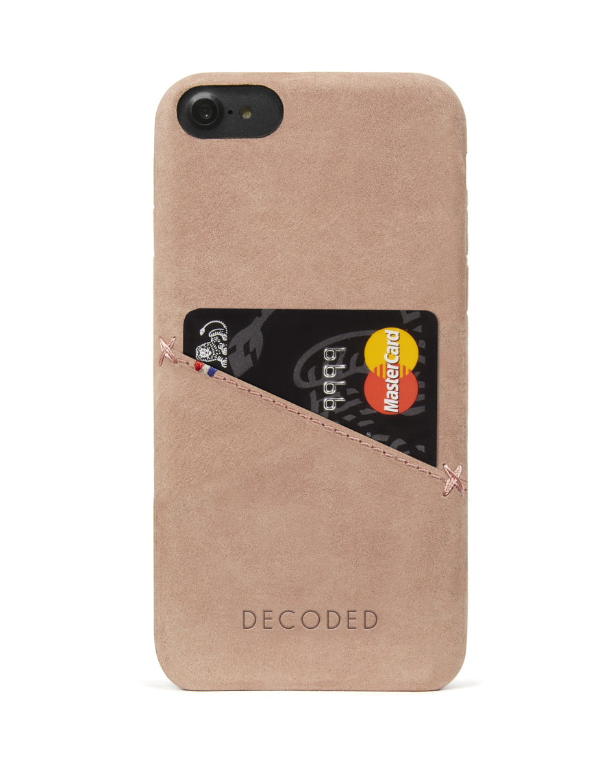 Back Cover Card Case Rose - iPhone SE-Back Cover-Decoded Bags