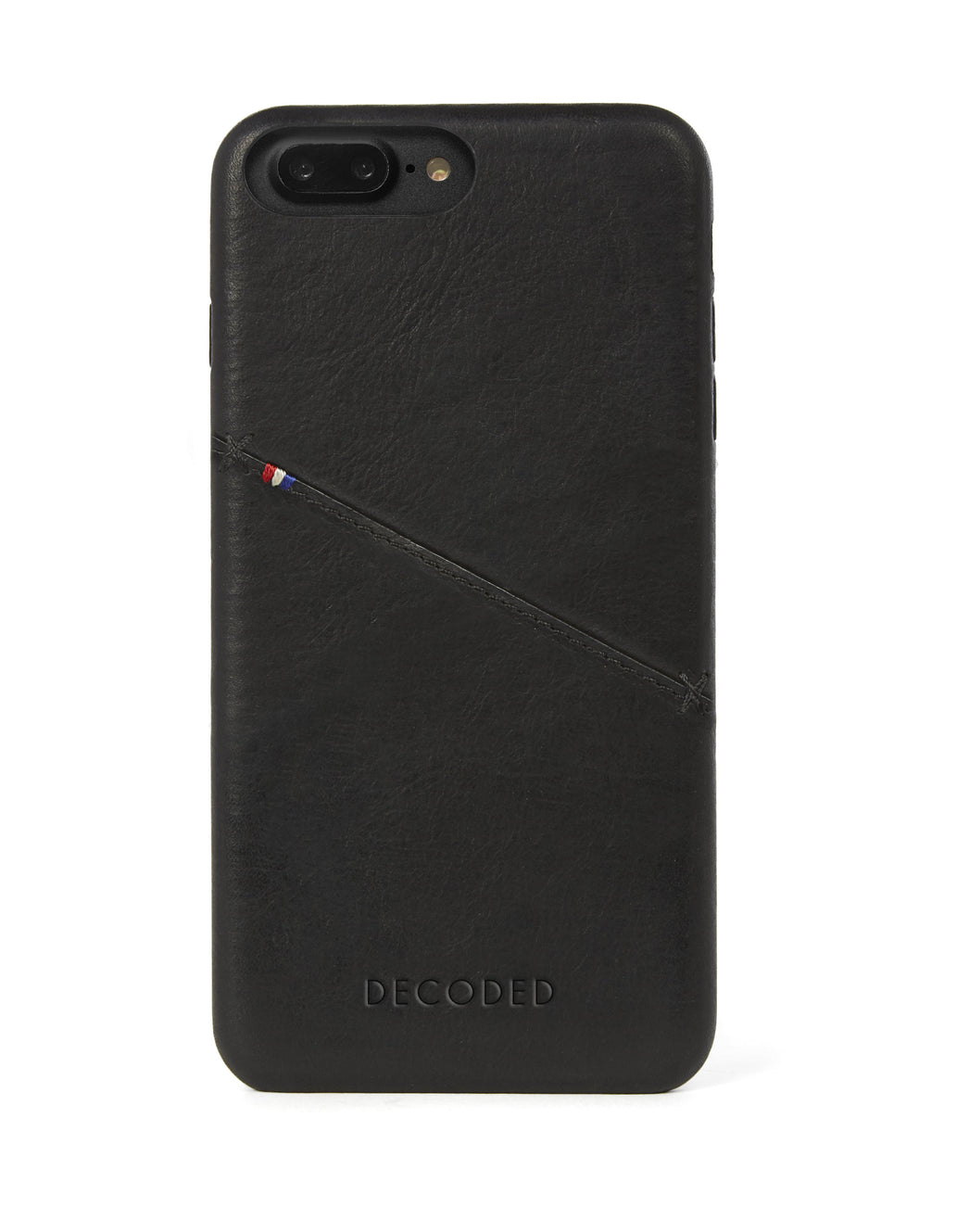 Back Cover Card Case Black - iPhone 6s / 6 Plus