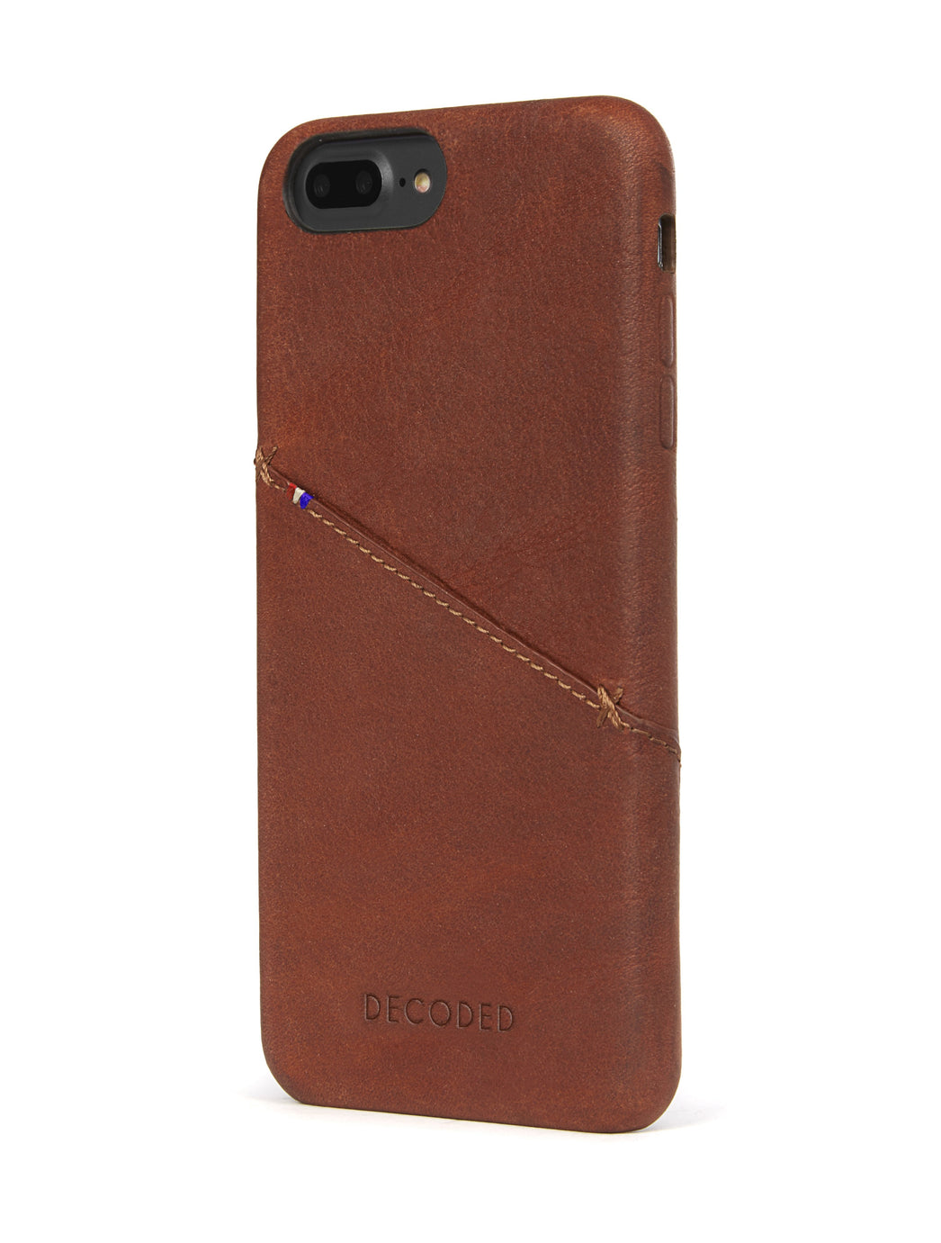 Back Cover Card Case Brown - iPhone 6 / 6s Plus