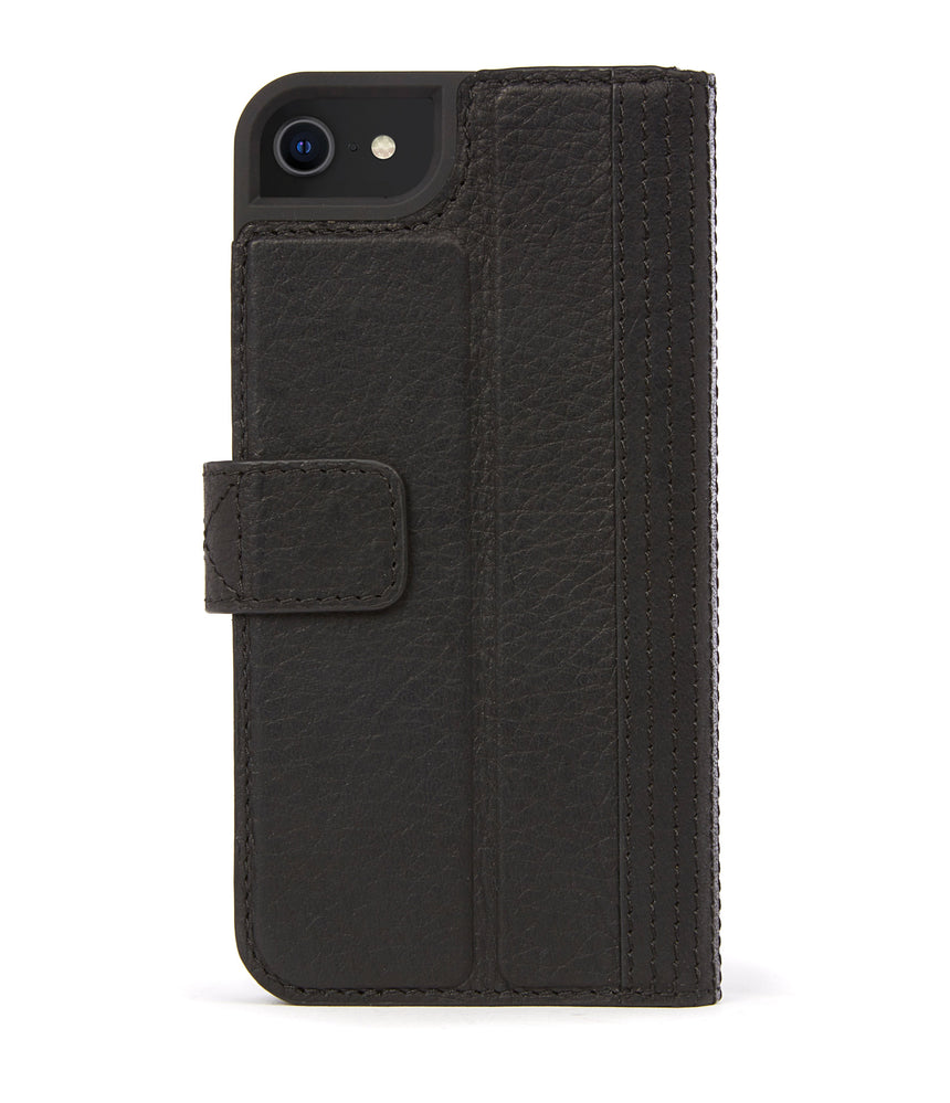 Wallet Case Black - iPhone SE-Wallet Case-Decoded Bags