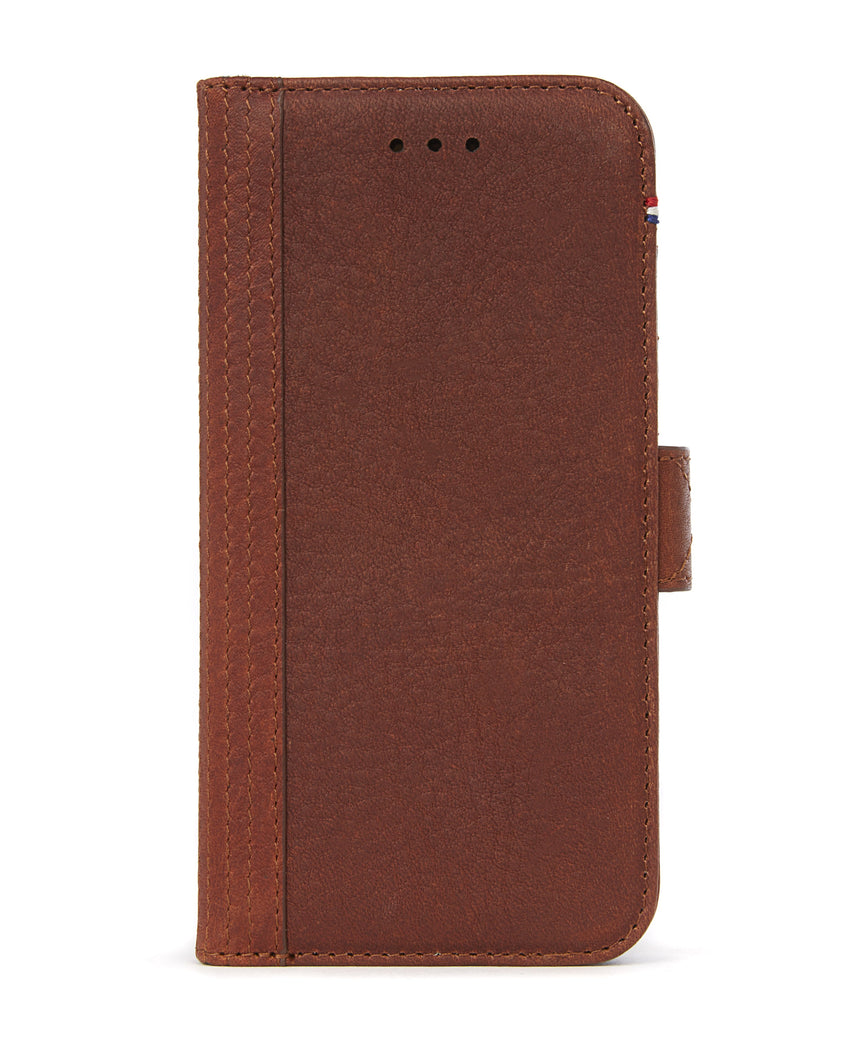 Wallet Case Brown - iPhone SE-Wallet Case-Decoded Bags