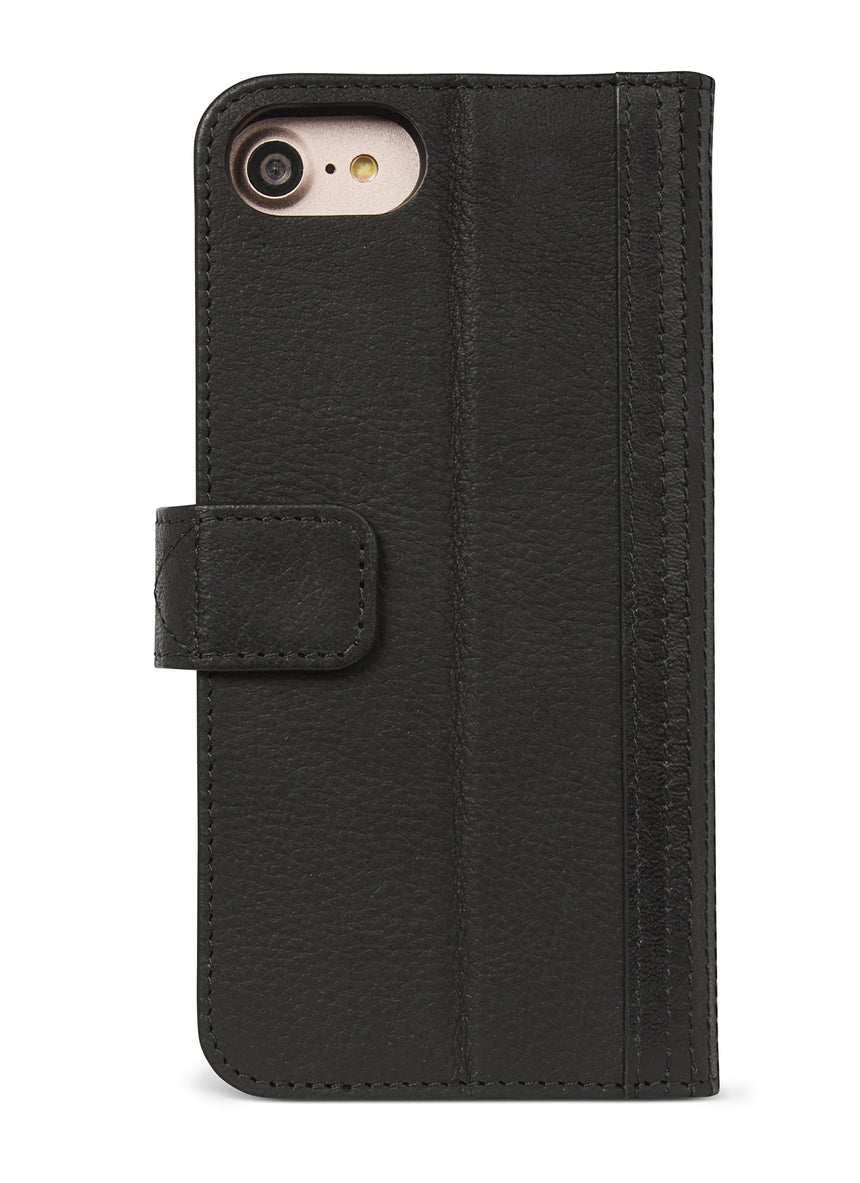 Detachable Wallet Black - iPhone SE-Detachable Wallet-Decoded Bags