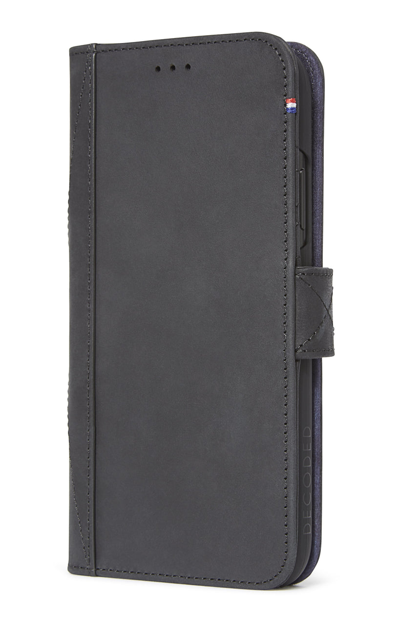 Detachable Wallet Black - iPhone XR-Detachable Wallet-Decoded Bags