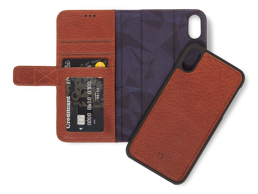 Detachable Wallet Brown - iPhone XR-Detachable Wallet-Decoded Bags