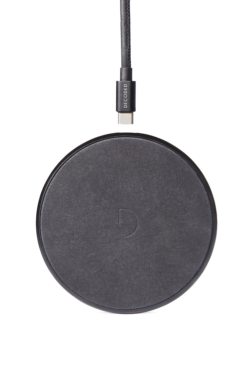 FastPad Wireless Charger Black / Black-FastPad Wireless Charger-Decoded Bags