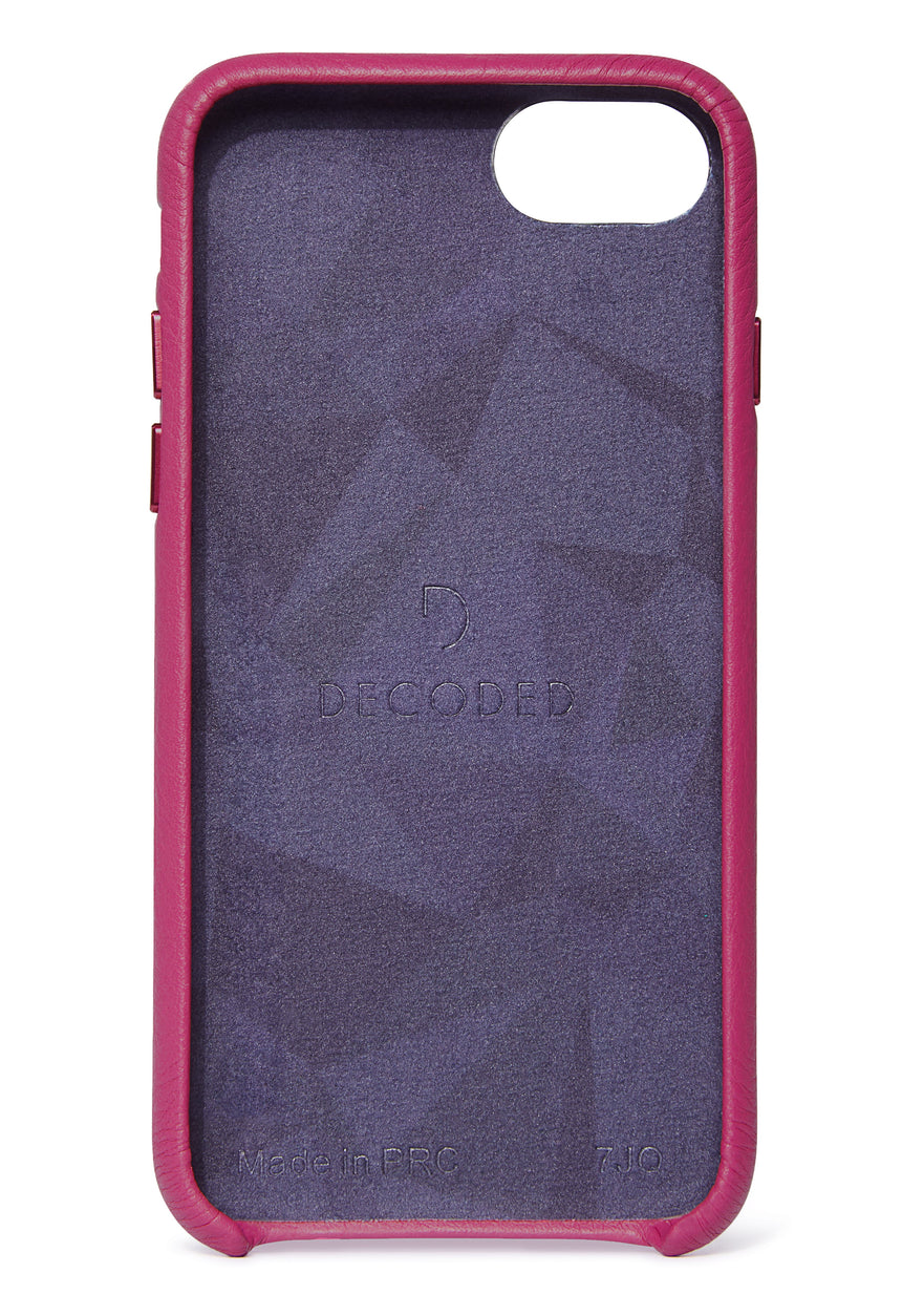 Back Cover Fuchsia - iPhone SE-Back Cover-Decoded Bags
