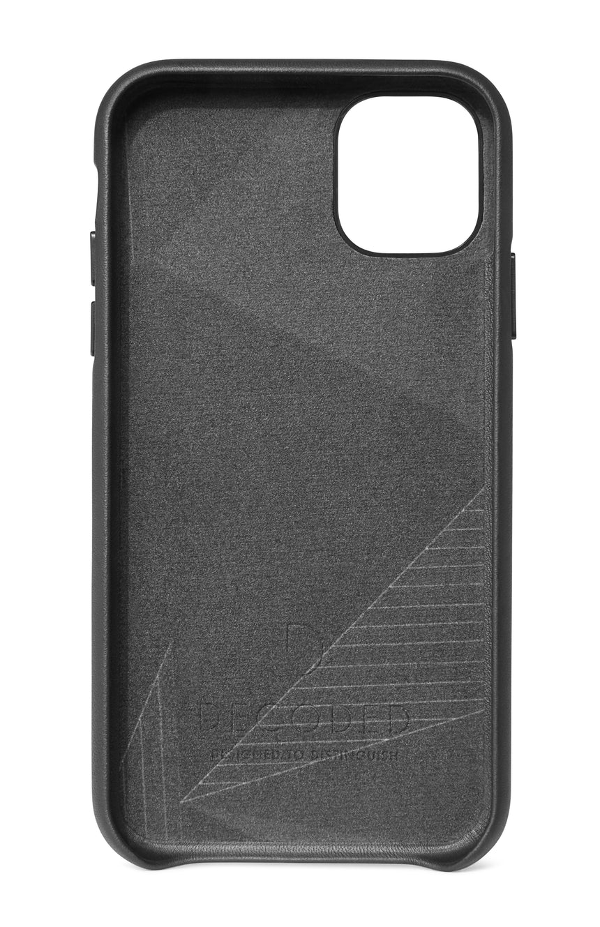 Back Cover Black - iPhone 11-Back Cover-Decoded Bags