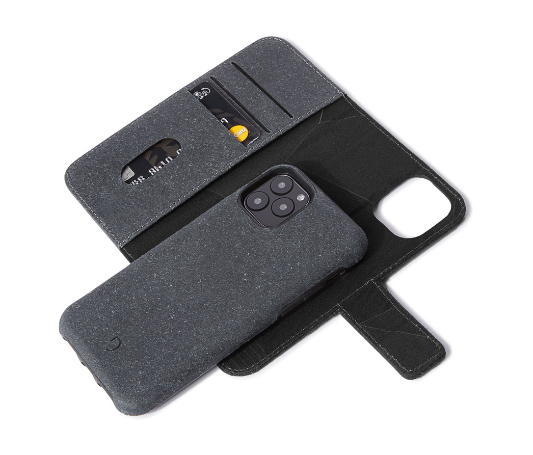 Detachable Wallet Recyc Anthracite - iPhone 11 Pro