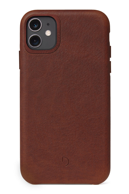 Back Cover Brown - iPhone 11-Back Cover-Decoded Bags