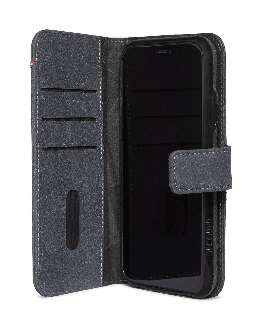Detachable Wallet Recyc Anthracite - iPhone 11