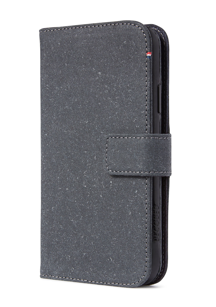Detachable Wallet Recyc Anthracite - iPhone 11 Pro Max-Detachable Wallet-Decoded Bags