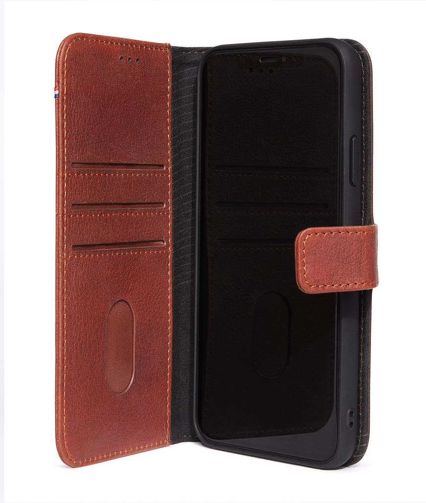 Detachable Wallet Brown - iPhone 11-Detachable Wallet-Decoded Bags