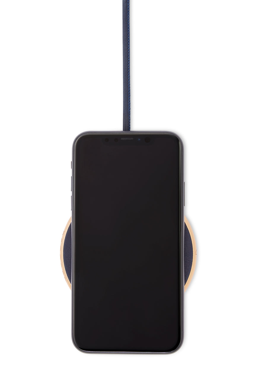 FastPad Wireless Charger Navy / Gold-FastPad Wireless Charger-Decoded Bags